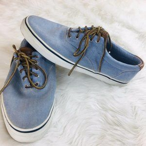 Sperry Top-Sider Light Blue casual Men's Shoes 13